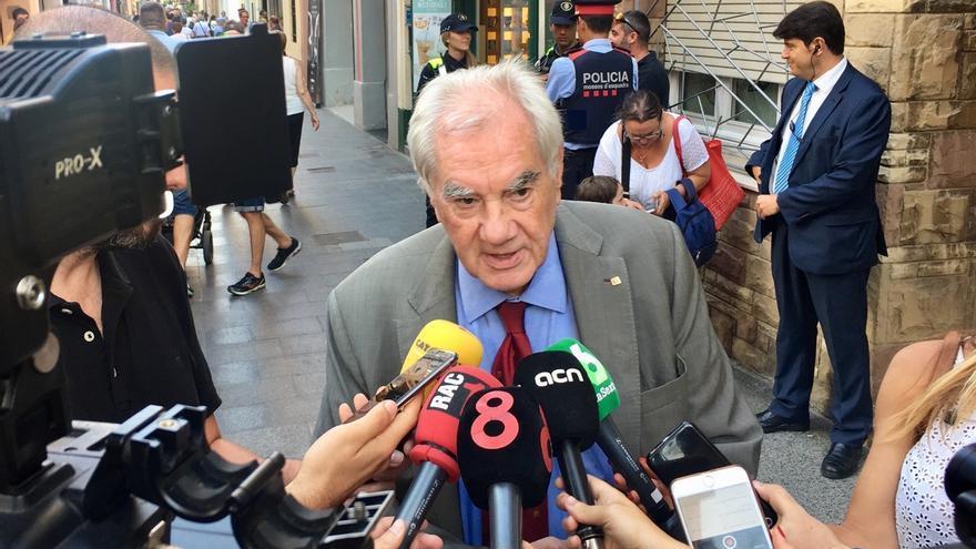 """El conseller Ernest Maragall sobre Puigdemont: """"El mensaje de Europa es: 'Libere ya a estos ciudadanos'"""""""