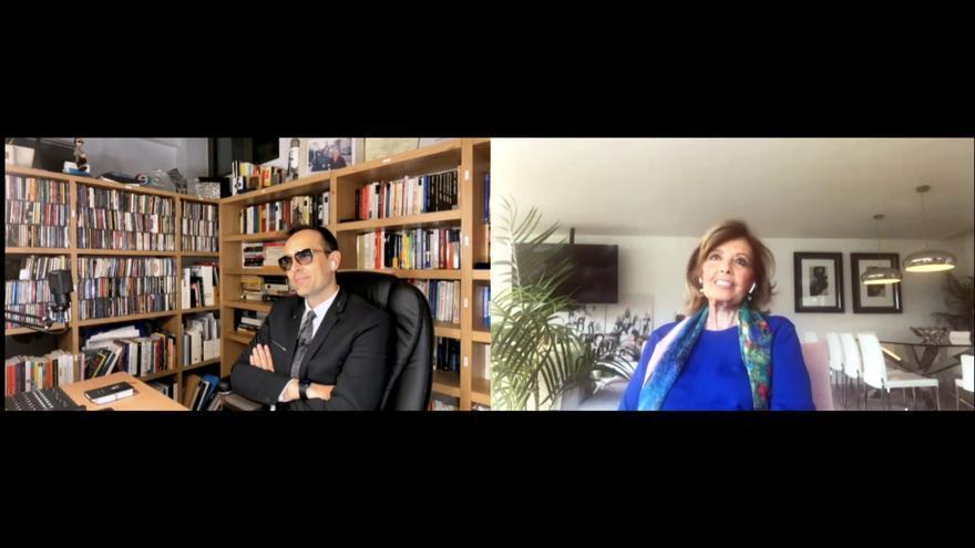 Risto y Maria Teresa Campos en el programa