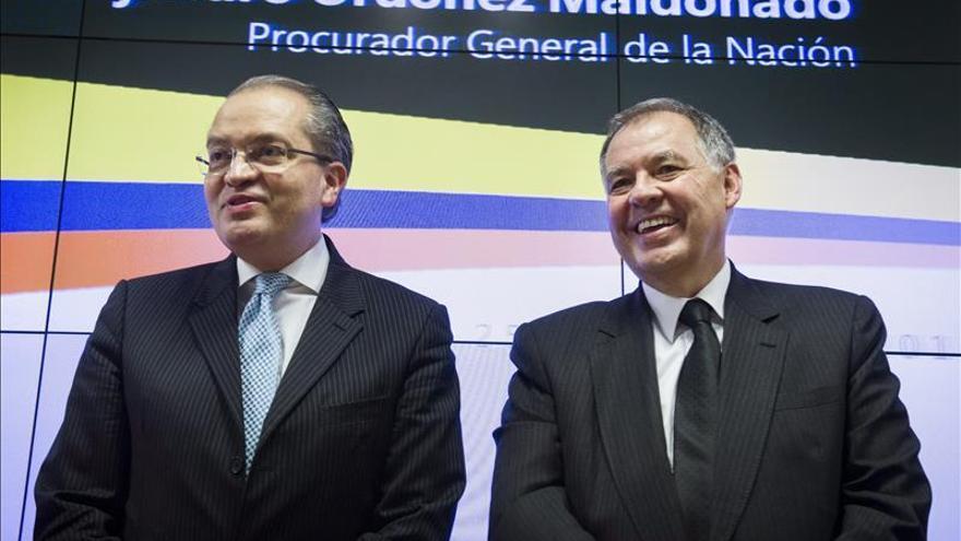 """El proceso de paz colombiano está en """"ciudados intensivos"""" según el procurador general"""