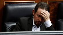 """Iglesias cree que el Eurogrupo ha hecho un """"avance interesante"""" y en la """"buena dirección"""", aunque aún """"insuficiente"""""""