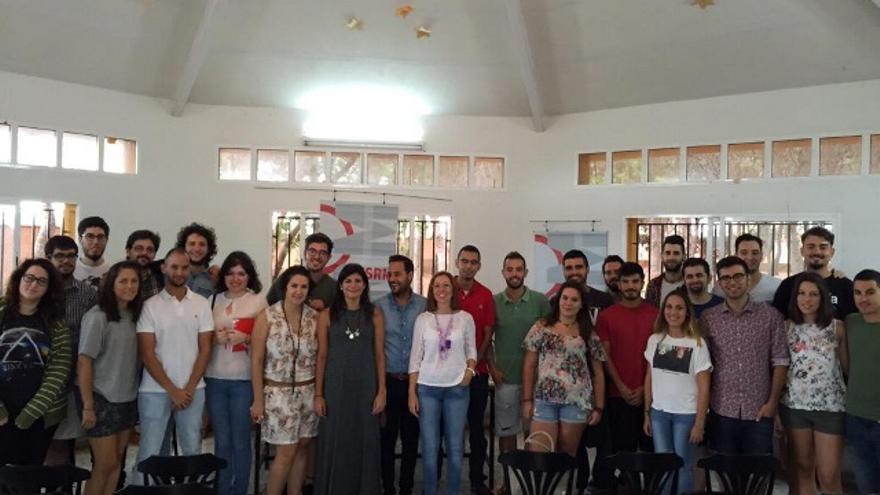 JSRM en su escuela de verano, con la vicealcaldesa de Cartagena, Ana Belén Castejón