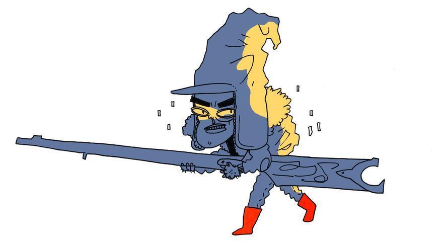 Ilustración de 'Lobomalo'.