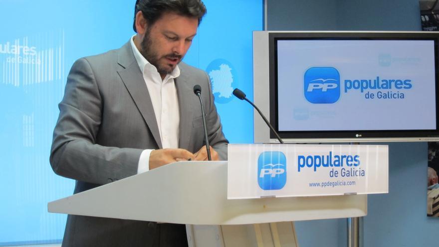 """El PPdeG cree que Rubalcaba viene a """"vigilar"""" la proclamación de Vázquez, dadas las """"tiranteces"""" en el PSdeG"""