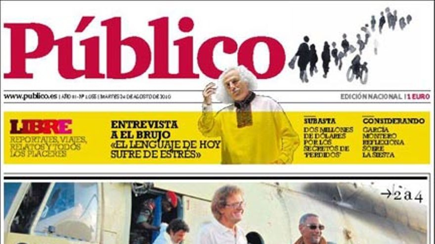 De las portadas del día (24/08/2010) #10