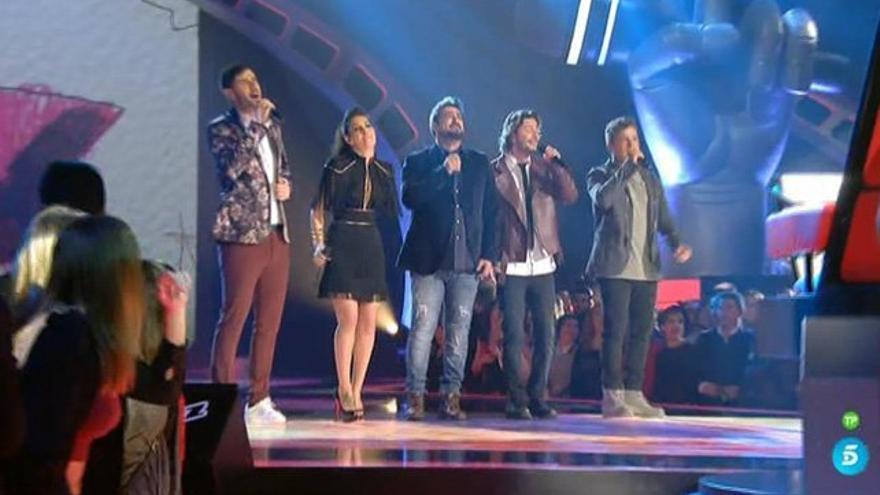 'La Voz' eligió a sus 4 primeros semifinalistas y despidió al 'triunfito' Forriols