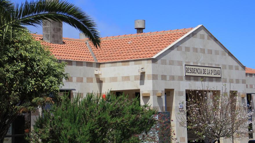 En la imagen, Residencia de la Tercera Edad de Puntagorda.