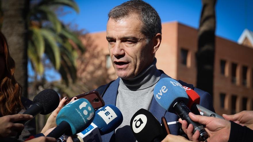 Cantó, candidato de Ciudadanos a la Presidencia de la Generalitat valenciana.