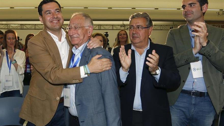 Gabriel Amat, reelegido presidente del PP Almería por cuarta vez consecutiva