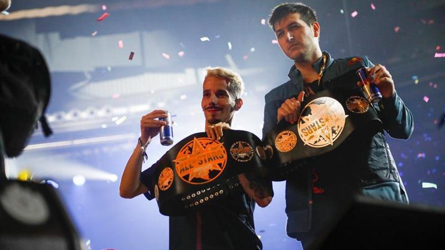 Los españoles Skone y Chuty ganan la God Level - All Stars en Madrid
