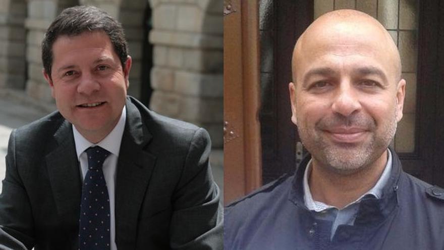 Emiliano García-Page (PSOE) y José García Molina (Podemos), Castilla-La Mancha