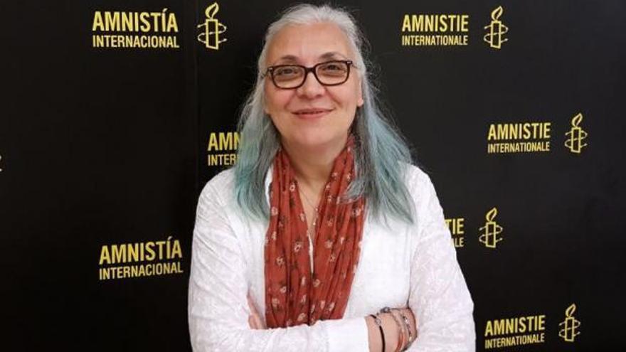 Idil Eser, directora de Amnistía Internacional en Turquía, es una de las activistas detenidas.