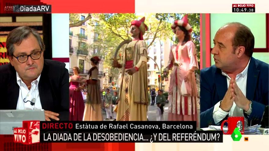 """Marhuenda, en laSexta: """"Firmo como catalán no independentista que TV3 fuera como TVE"""""""