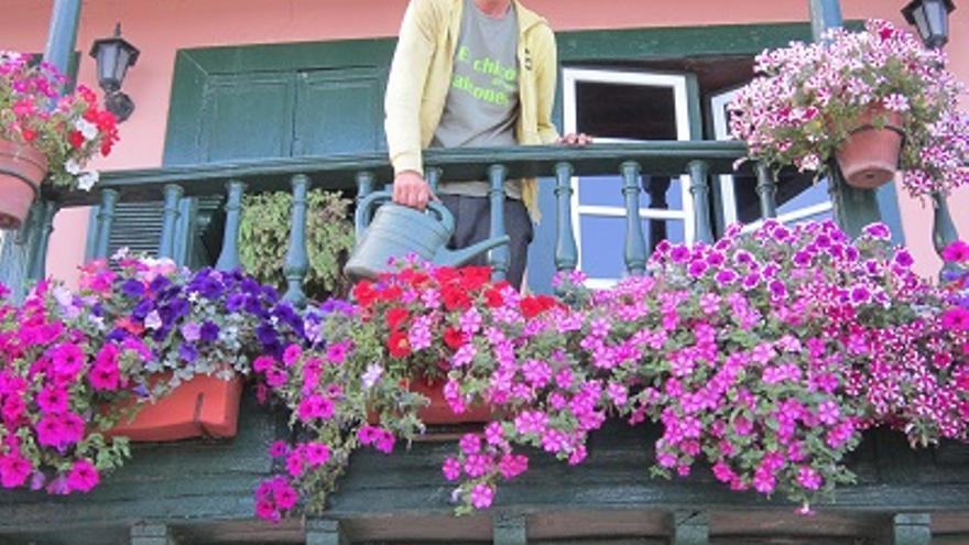 Heiko Bartsch, conocido como El Chico de Los Balcones (Fotos: LUZ RODRÍGUEZ)