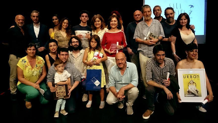 Los premiados del público de Sala Russafa recogen su galardón
