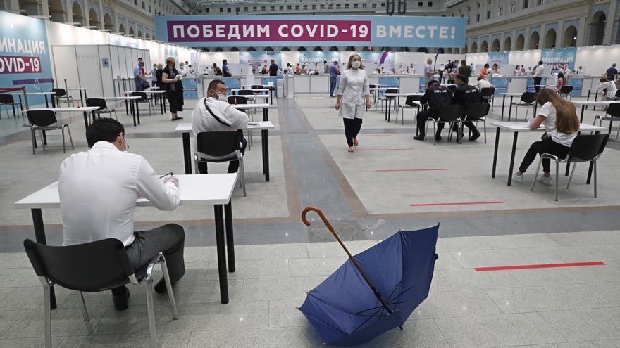 Detectan en Rusia la variante brasileña Gamma del coronavirus