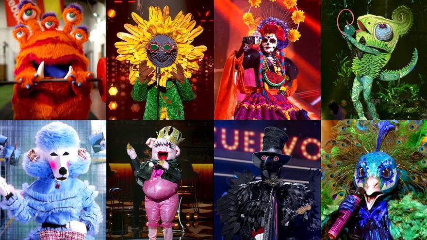 Las 8 máscaras aún sin revelar de 'Mask Singer'