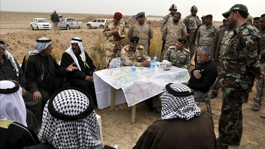 Las tropas iraquíes continúan sus avances contra el Estado Islámico en Saladino