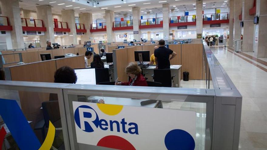 La atención en oficinas de la campaña de la renta comienza el jueves