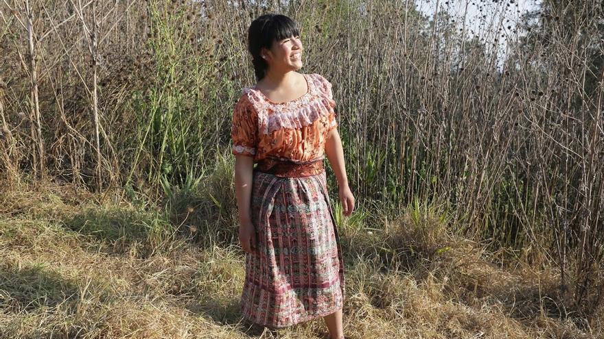 La historia de lucha de Kim, una joven de Guatemala que vio vulnerado su derecho a la educación durante años