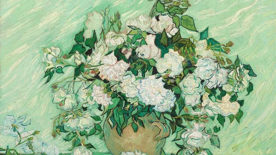 Los lirios y las rosas de Van Gogh, reunidos por primera vez en Nueva York