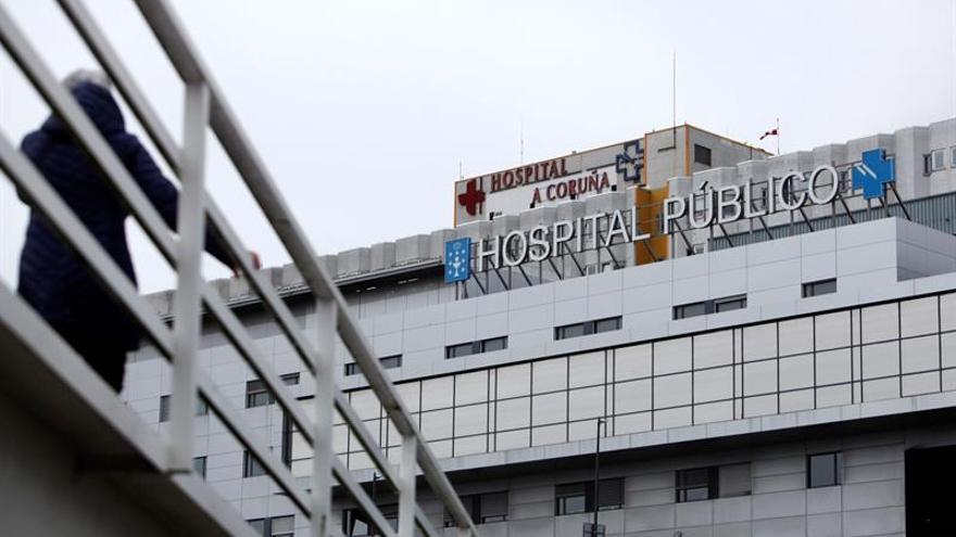 El paciente ingresado con coronavirus en Galicia se encuentra estable