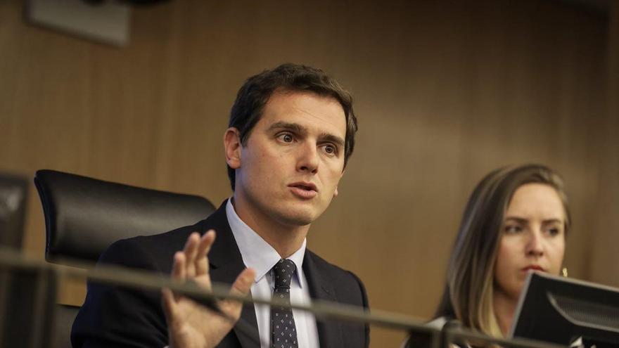 """Rivera rechaza que el Gobierno ofrezca dialogar """"sin cortapisas"""" con quienes quieren """"dar otro golpe"""" en Cataluña"""