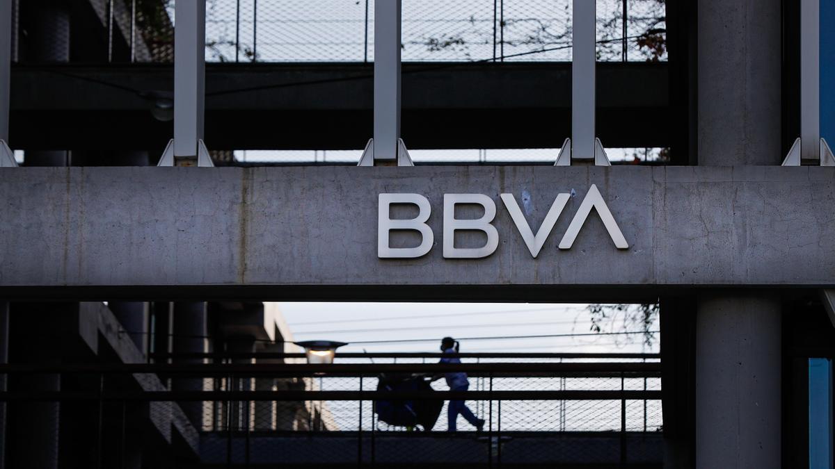 Sede corporativa del BBVA, en el distrito de Las Tablas en Madrid. EFE/Emilio Naranjo/Archivo