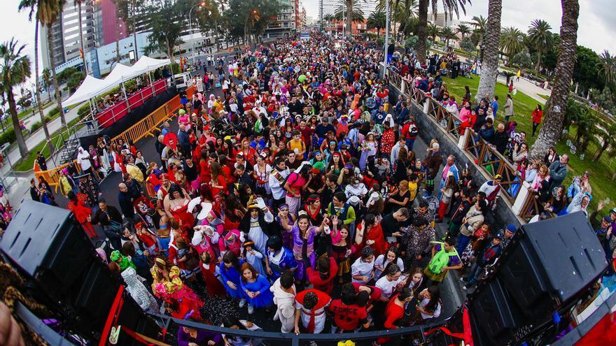 Resultado de imagen de gran cabalgata carnaval las palmas,