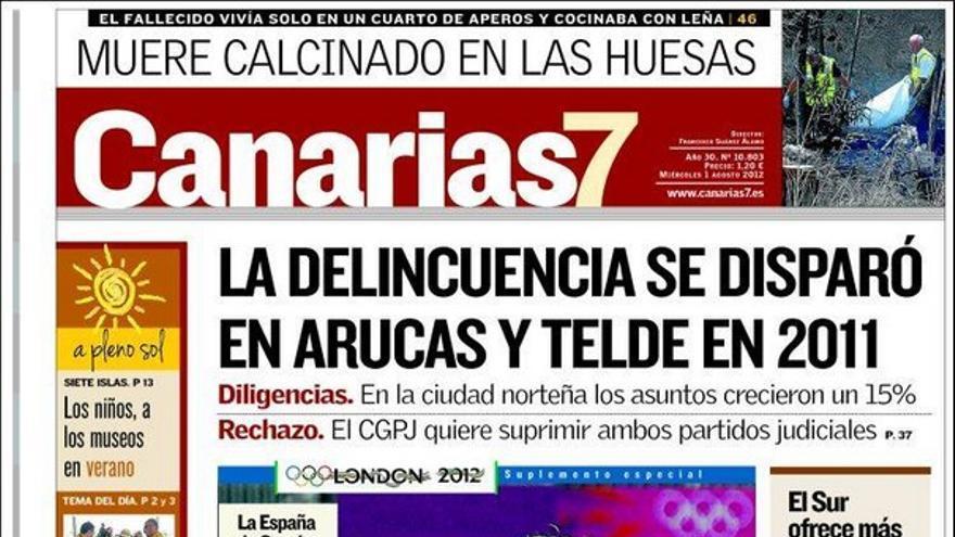 De las portadas del día (01/08/2012) #2
