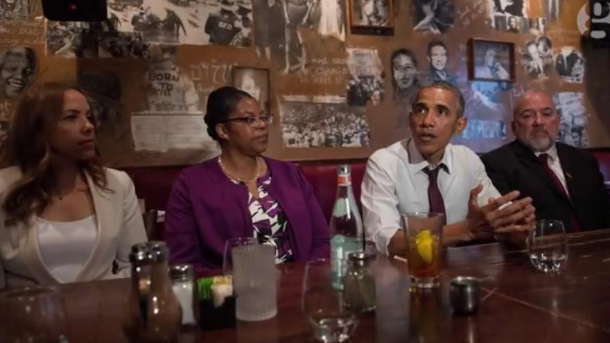 Captura de pantalla de un vídeo realizado pot the Guardian sobre la historia del indulto de Ramona Brant