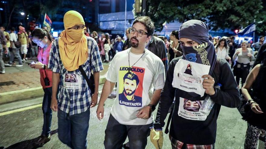 La oposición venezolana convoca un paro general de 24 horas para el próximo jueves