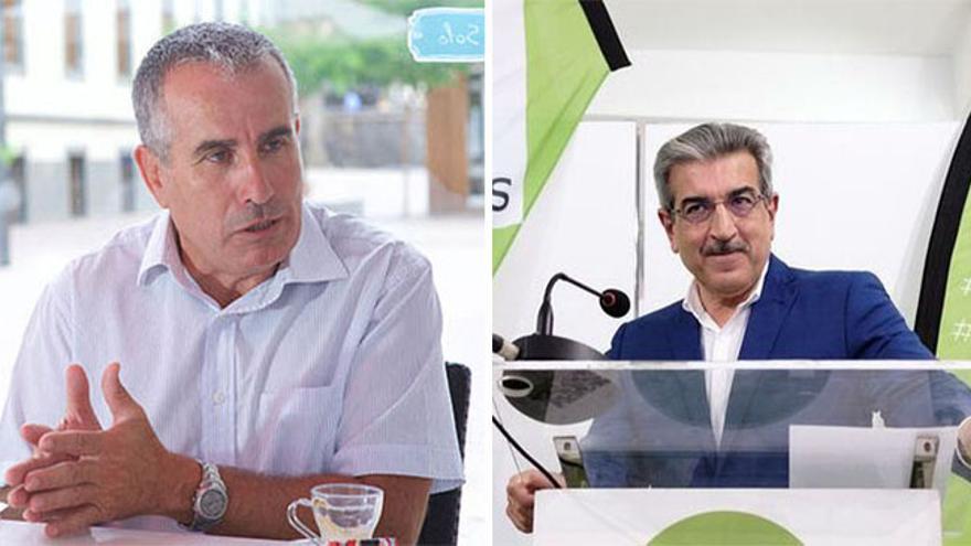Mario Cabrera y Román Rodríguez.