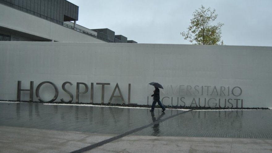 Accesos del Hospital Lucus Augusti / CIG