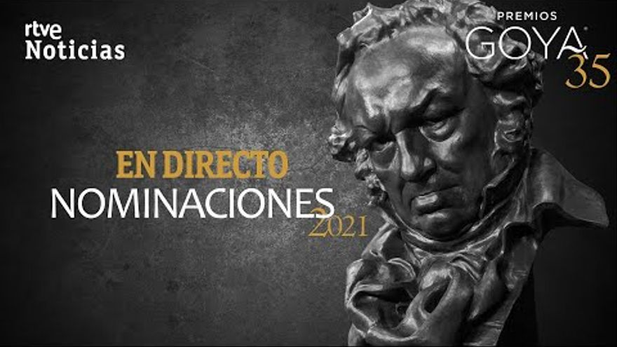 DIRECT |  Reading of the nominees for the Goya 2021 awards