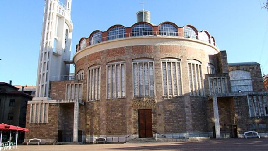 Iglesia de la Virgen Grande de Torrelavega.