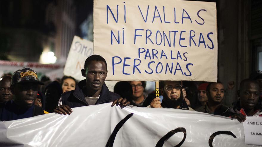 Manifestación en Barcelona el Dia Internacional del Migrante / ROBERT BONET
