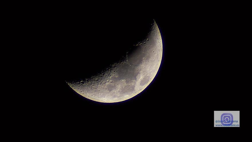 Imagen de archivo de la Luna.