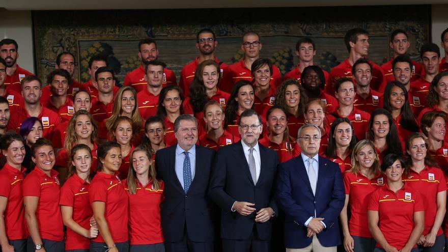 """Rajoy se inspira en el espíritu olímpico: """"Si hay algo que no vaya bien, hay que continuar y no rendirse"""""""