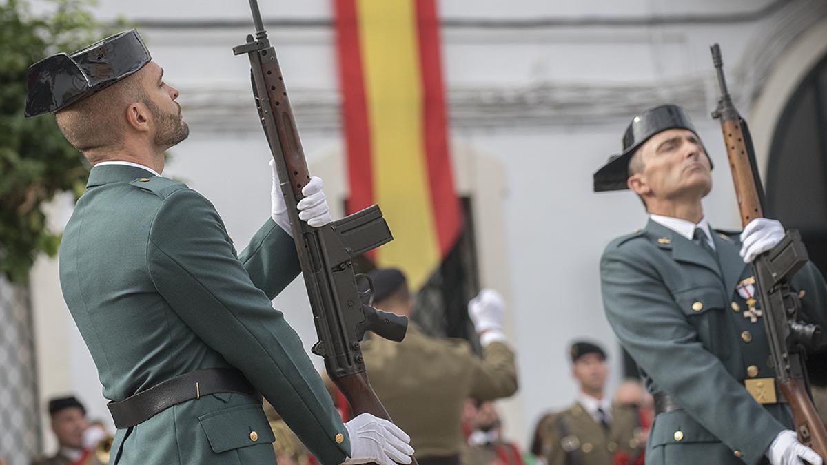 Desfile de la Guardia Civil en Córdoba