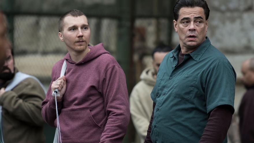 Benicio del Toro en la serie 'Fuga en Dannemora'