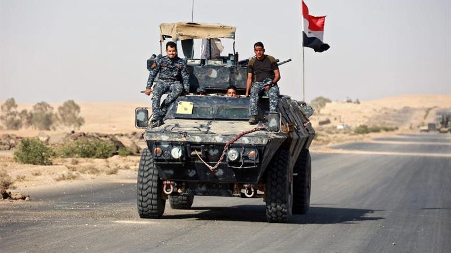Las fuerzas iraquíes entran en la ciudad de Mosul por el frente oriental