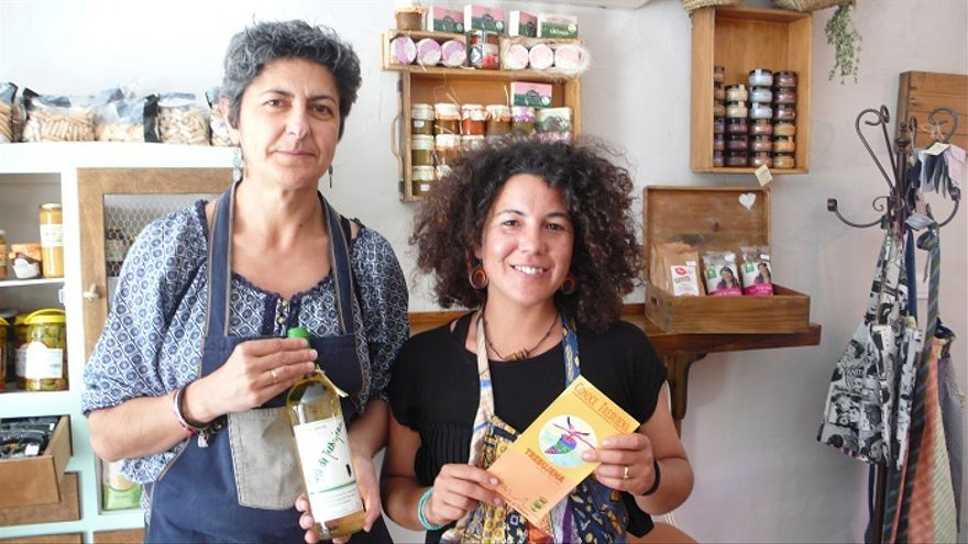 Elisabeth Ramírez y Catalina Zambrano, dueñas de Ca'Moña.