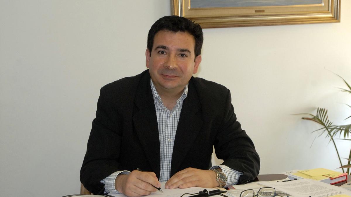 Carlos Cortina, exalcalde de El Astillero.