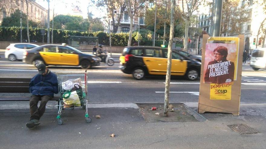 CARTEL EN BARCELONA