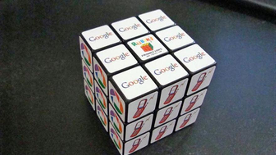 Cubo de Rubik de Google. (EUROPA PRESS)