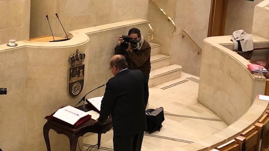 Fallece el exdiputado del PP en Cantabria Miguel Ángel Lavín