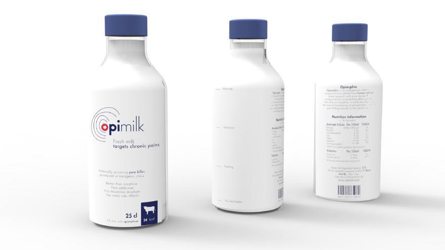 Opimilk, leche orgánica, hiperlocal y analgésica