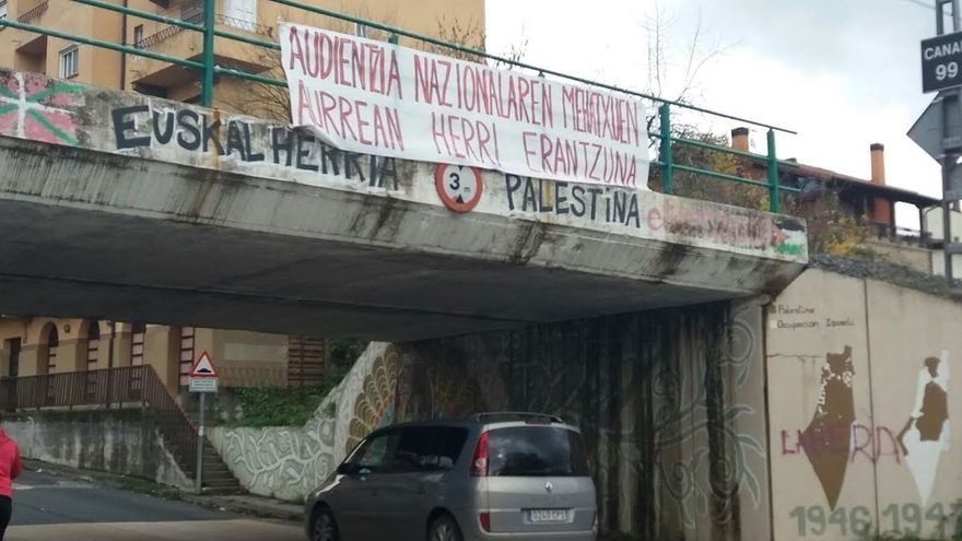 Dos de los ocho detenidos en Alsasua son los promotores de la campaña para expulsar a la Guardia Civil