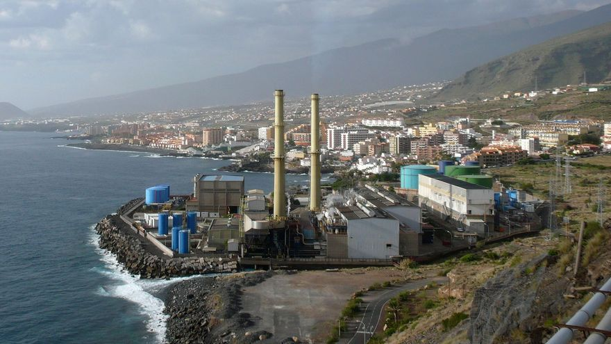 Central térmica de Caletillas, en Tenerife.