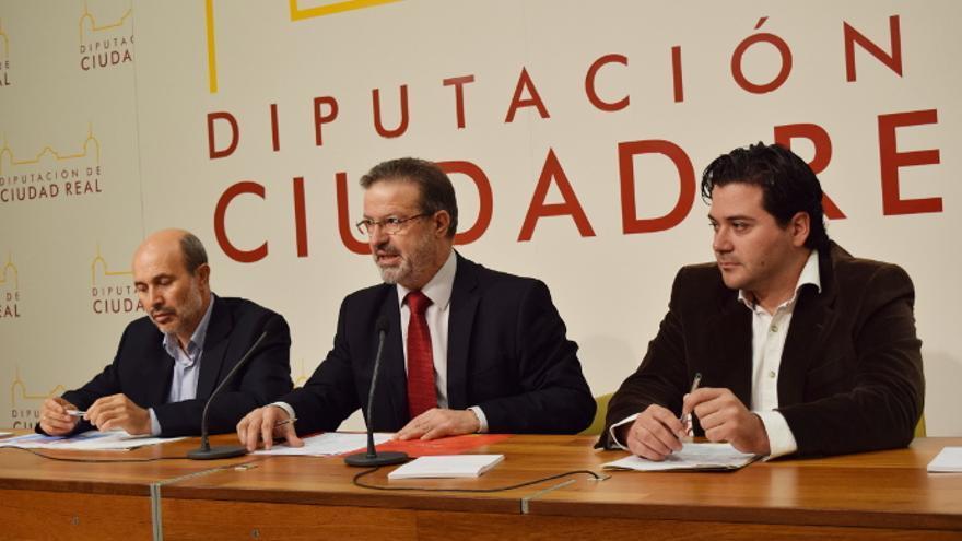 Nemesio de Lara, presidente de la Diputación de Ciudad Real / foto: el CRisol de Ciudad Real